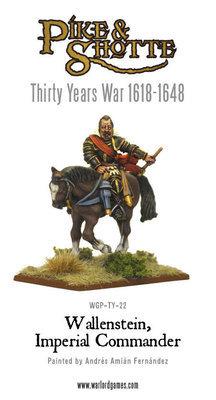 Wallenstein, Imperial Commander - Pike & Shotte - Warlord Games