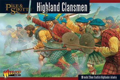Highlanders (19) Highland Clansmen - Black Powder - Warlord Games