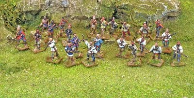 Indian War Party - Muskets and Tomahawks - North Star Figures
