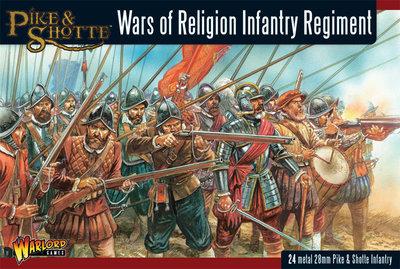 Wars of Religion: Infantry Regiment - Black Powder - Warlord Games
