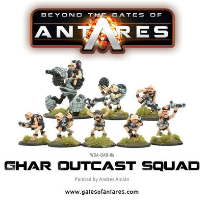 Ghar Outcast Squad - Beyond The Gates Of Antares