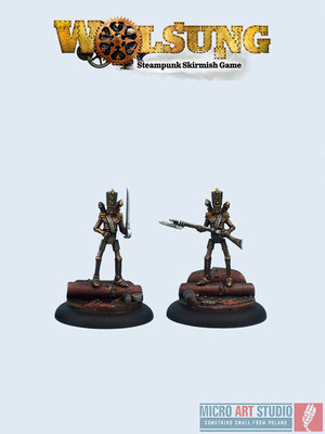 Inventors - Clockwork Toy Soldiers (2) - Wind-up - Wolsung