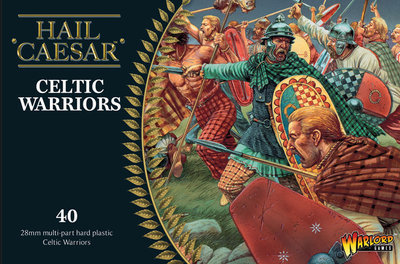 Celtic Warriors Kelten - Hail Caesar - Warlord Games