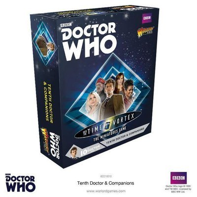 Tenth Doctor and Companions Set - Doctor Who