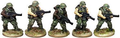 Jungle Fighters - Future Wars - Copplestone Castings