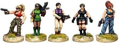 Babes with Guns II - Future Wars - Copplestone Castings