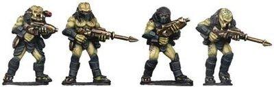 Hunter Aliens with Guns - Future Wars - Copplestone Castings