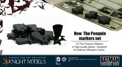 The Penguin Markers - Batman Miniature Game