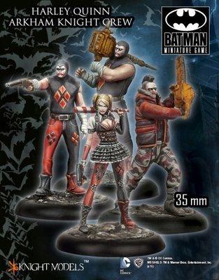 Harley Quinn Arkham Knight Crew - Batman Miniature Game