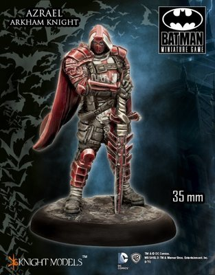 Azrael (Arkham Knight) - Batman Miniature Game - Knight Models