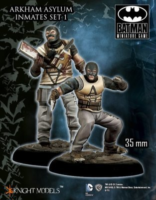 Arkham Asylum Inmates Set 1 - Batman Miniature Game