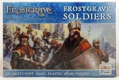 Frostgrave Soldiers - Frostgrave - Northstar Figures