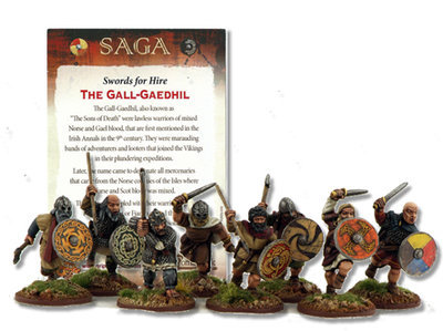 The Gall-Gaedhil, Sons of Death (inc Rules Card) - Söldner - SAGA