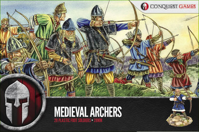 Medieval Archers - SAGA - Conquest Games