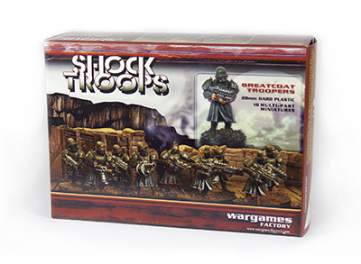 Shock Troops Sci-Fi Infantry - Alien Suns - Wargames Factory