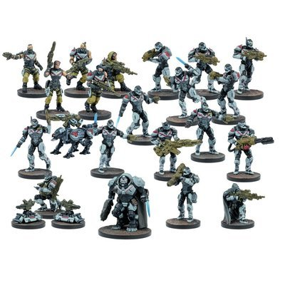 Enforcer Faction Starter - Deadzone 2 - Mantic Games