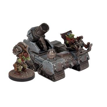 Marauder Goblin Guntrak - Deadzone - Mantic Games