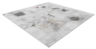 Deadzone Deluxe Rubber Mat (Re-Release) - Mantic Games