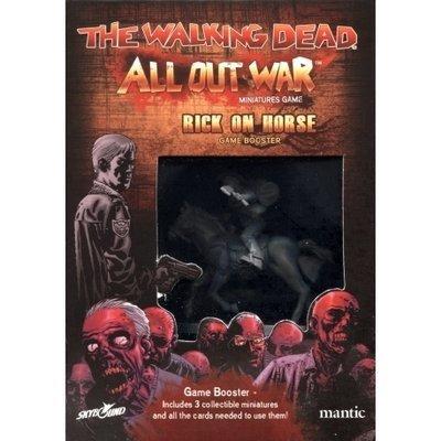 Rick on Horseback Booster - The Walking Dead - Mantic Games
