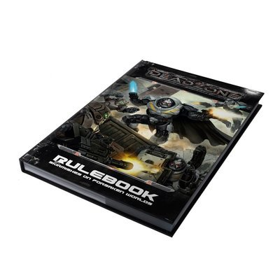 Deadzone 2nd Edition Hardback Rulebook (e) - Mantic Games