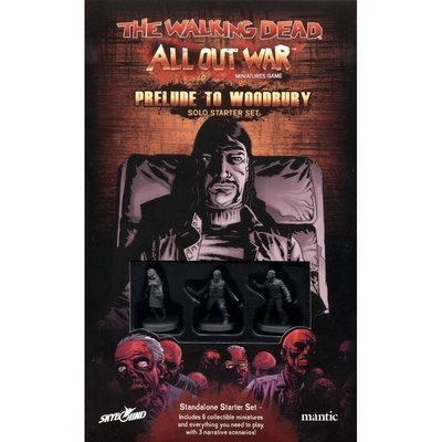 Prelude to Woodbury - Solo Starter Set - The Walking Dead - Mantic Games