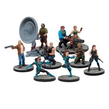 Mars Attack - Novas Vira Militia - Mantic Games