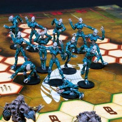 DreadBall Pelgar Mystics Judwan Team Box (12 Figuren)