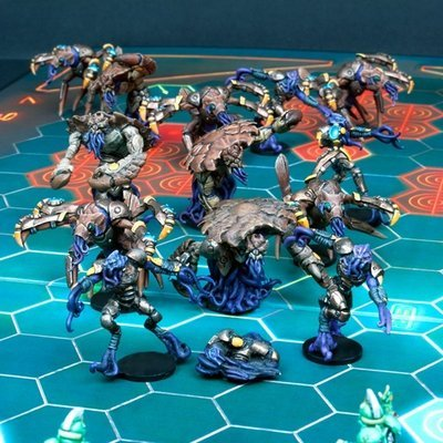 DreadBall Kalimarin Ancients Nameless Team Box (14 Figuren)