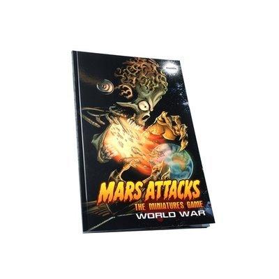 Mars Attacks: World War (Regelbuch + Erweiterung) - Mantic Games