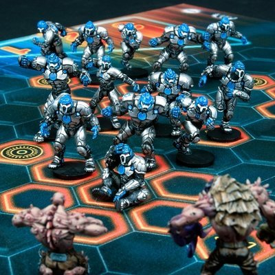 DreadBall Trontek 29ers Corporation Human Team Box (13 Figuren)