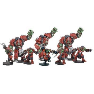 DreadBall Greenmoon Smackers Marauder Team (8 Figuren)