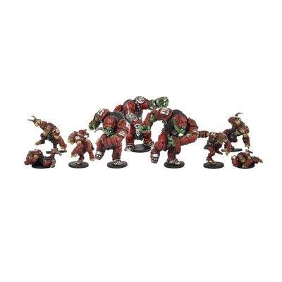 DreadBall Greenmoon Smackers Marauder Team Booster (9 Figuren)