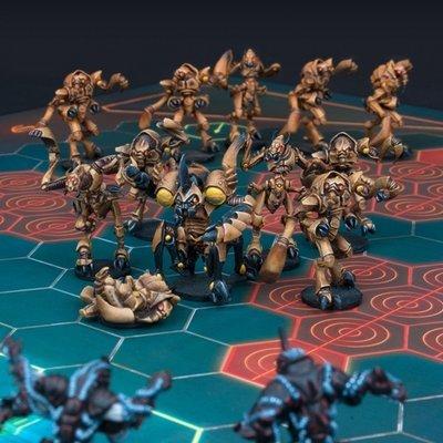 DreadBall Locust City Chiefs Z'Zor Team Box (13 Figuren)
