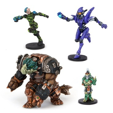 Dreadball All Stars MVP Pack: Intergalactic Overlords