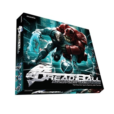 Dreadball Azure Forest - The Futuristic Sports Game (e)