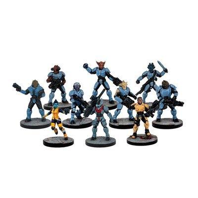Mars Attacks - Tiger Corps (10 Figuren)