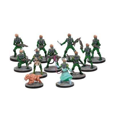 Mars Attacks - Martian Science Division (11 Figuren)