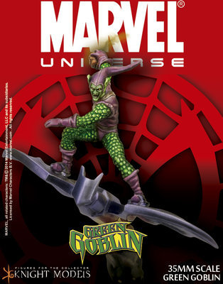 Green Goblin - Marvel Knights Miniature