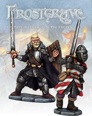 Knight & Templar - Frostgrave - Northstar Figures