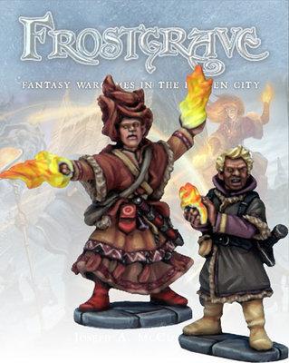Elementalist & Apprentice - Frostgrave - Northstar Figures