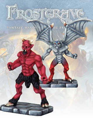 Imp Demon & Minor Demon - Frostgrave - Northstar Figures