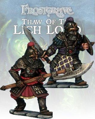 Cultist Knight & Templar (2) - Frostgrave - Northstar Figures