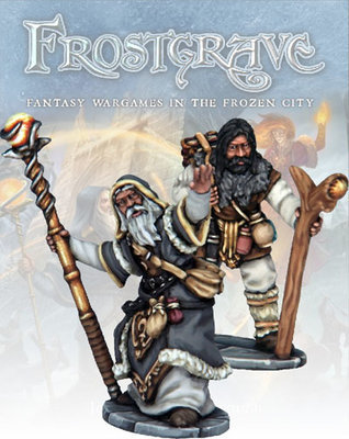 Thaumaturge & Apprentice - Frostgrave - Northstar Figures