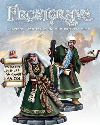 Sigilist & Apprentice - Frostgrave - Northstar Figures