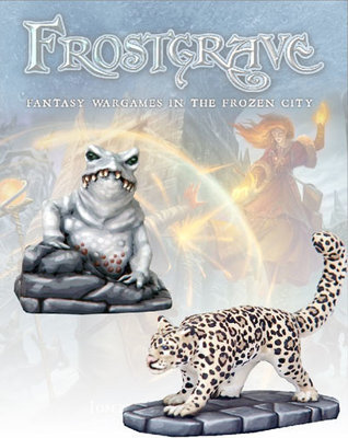 Ice Toad & Snow Leopard - Frostgrave - Northstar Figures