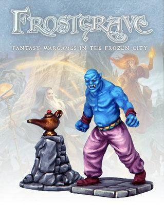 Genie & Lamp - Frostgrave - Northstar Figures