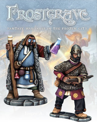 Apothecary & Marksman - Frostgrave - Northstar Figures