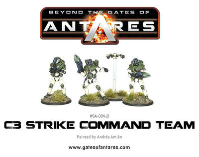 Concord C3 Strike Command Team - Beyond The Gates Of Antares