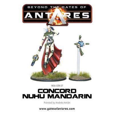 Concord C3 Nu-Hu Mandarin - Beyond The Gates Of Antares