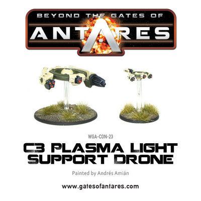 Concord C3 Plasma Light Support Drone - Beyond The Gates Of Antares